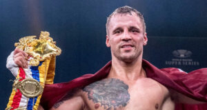 Mairis Briedis defended his IBF cruiserweight world title with victory over Artur Mann Photo Credit: WBSS