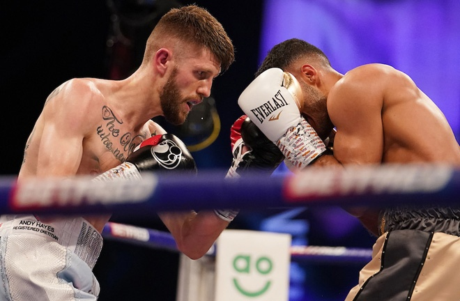 Cunningham stunned Yafai in May to win the European belt Photo Credit: Dave Thompson/Matchroom Boxing