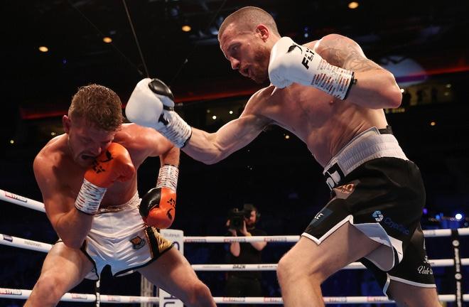 Robbie Davies Jr returned to winning ways Photo Credit: Mark Robinson/Matchroom Boxing