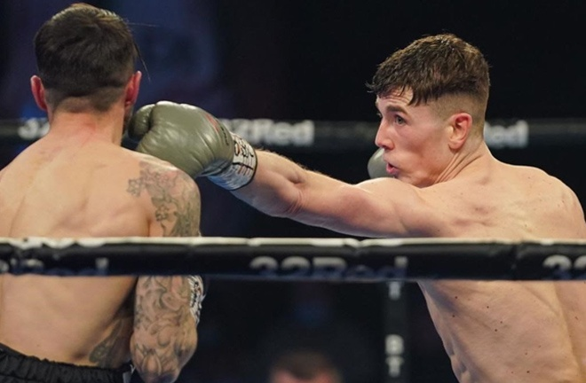 British and Commonwealth champion, Foster is unbeaten in his 16 professional fights Photo Credit: Queensberry Promotions