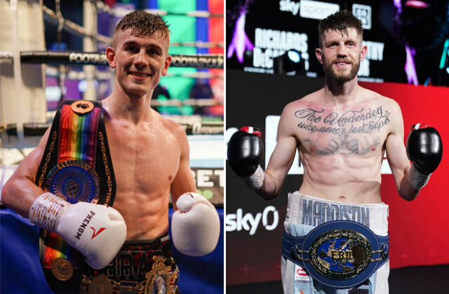 Brad Foster and Jason Cunningham clash for the British, Commonwealth and European super bantamweight titles in Birmingham this Saturday night Photo Credit: Queensberry Promotions/Dave Thompson/Matchroom Boxing