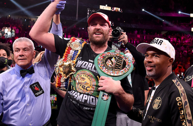 Fury made a successful first defence of his WBC heavyweight crown Photo Credit: Frank Micelotta/Fox Sports/PictureGroup