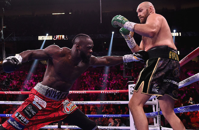Wilder targeted Fury's body in the early stages Photo Credit: Frank Micelotta/Fox Sports/PictureGroup