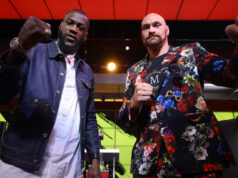 Tyson Fury and Deontay Wilder will clash for the third time in Las Vegas this Saturday night Photo Credit: Mikey Williams/Top Rank