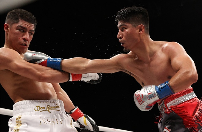 Garcia fights for the first time since beating Jessie Vargas in February 2020 Photo Credit: Ed Mulholland/Matchroom