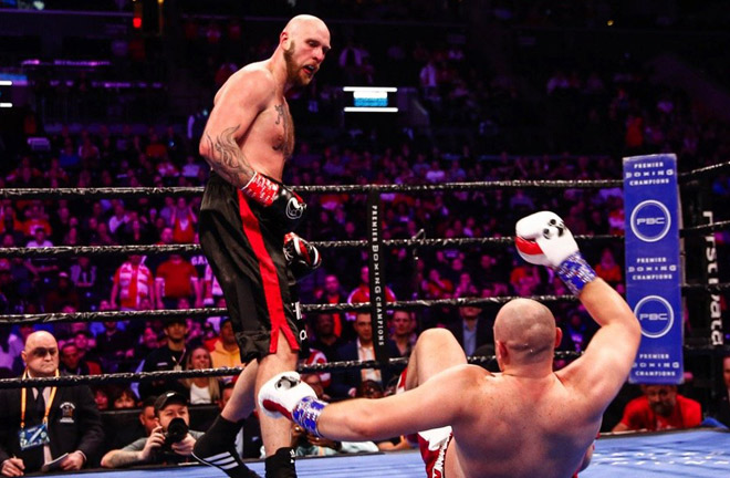 Helenius stopped Kownacki in the first meeting Photo Credit: Stephanie Trapp/TGB Promotions
