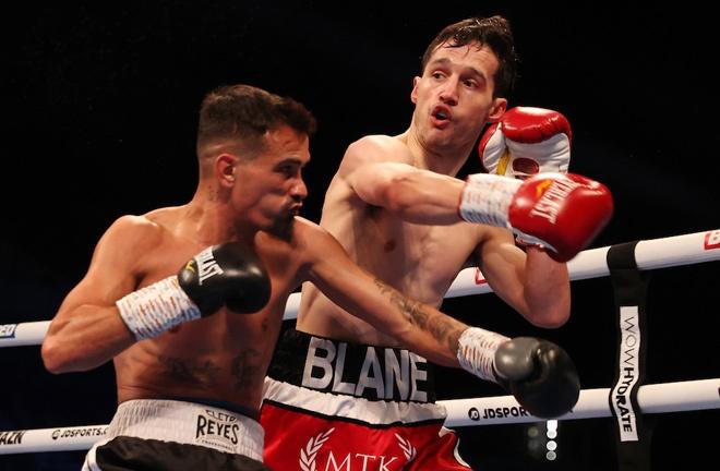 Blane Hyland overcame Santiago San Eusebio Photo Credit: Mark Robinson/Matchroom Boxing
