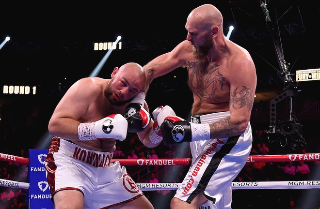 Adam Kownacki was disqualified during his rematch against Robert Helenius Photo Credit: Frank Micelotta/Fox Sports/PictureGroup