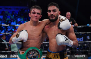 Louie Lynn says he is open to facing Amin Jahanzeb again Photo Credit: Queensberry Promotions