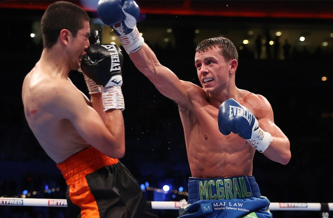 Peter McGrail excelled on his professional debut Photo Credit: Mark Robinson/Matchroom Boxing