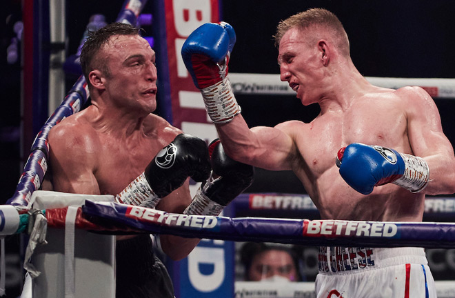 Metcalf is also looking to return to winning ways after defeat to Cheeseman Photo Credit: Mark Robinson/Matchroom Boxing