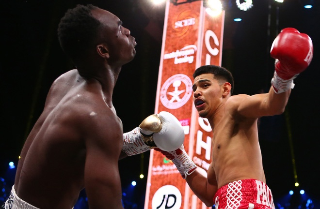 Pacheco scored a showreel knockout on the undercard of Anthony Joshua's rematch win over Andy Ruiz Jr Photo Credit: Dave Thompson/Matchroom Boxing