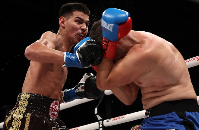 The 20-year-old is undefeated in 12 fights and aiming to become world champion by 22-years-old Photo Credit: Ed Mulholland/Matchroom Boxing USA
