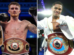 Archie Sharp is confident he can beat WBO super featherweight champion, Shakur Stevenson in the future Photo Credit: Round 'N' Bout Media/QueensberryPromotions/Mikey Williams/Top Rank