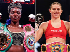 Claressa Shields and Savannah Marshall are on a collision course to renew their amateur rivalry in the professional ranks Photo Credit: Stephanie Trapp/SHOWTIME/Dave Thompson/Matchroom Boxing