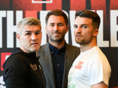 Liam Smith clashes with local rival Anthony Fowler in Liverpool this Saturday night Photo Credit: Matthew Pover/Matchroom Boxing