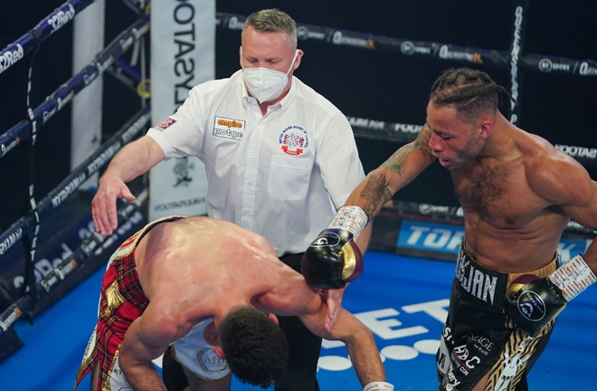 Williamson stopped Kieran Smith in April Photo Credit: Queensberry Promotions