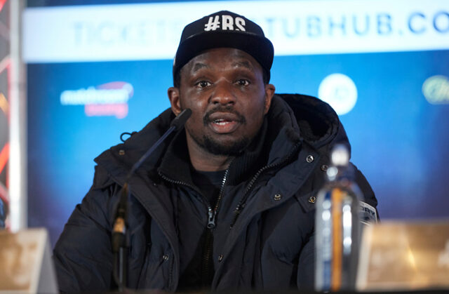 Dillian Whyte has given his reaction to Tyson Fury knocking out Deontay Wilder Mark Robinson/Matchroom Boxing