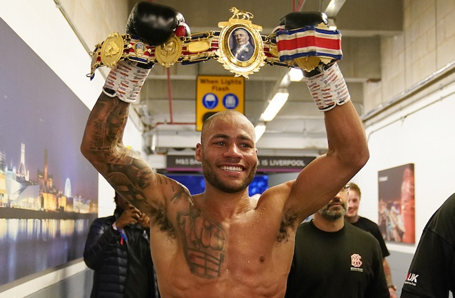 Williamson is the new British super welterweight champion Photo Credit: Dave Thompson/Matchroom Boxing